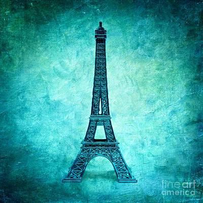 Eiffel Tower Art Print by Bernard Jaubert