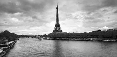Eiffel Tower From Pont De Bir-hakeim Art Print by Panoramic Images