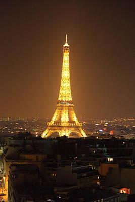 Sights Photograph - Eiffel Tower - Paris France - 01131 by DC Photographer
