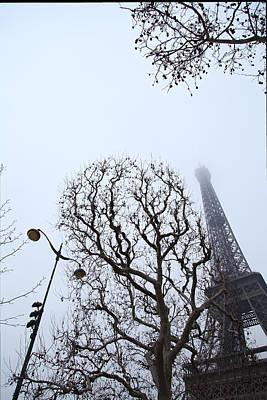 Eiffel Tower - Paris France - 011317 Art Print