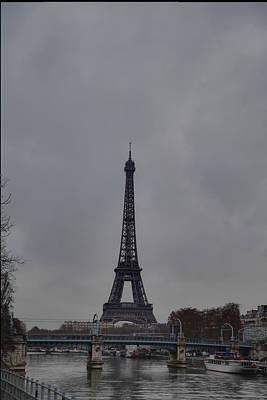Architektur Photograph - Eiffel Tower - Paris France - 011320 by DC Photographer