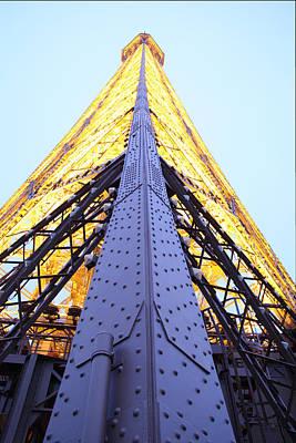 Exterior Photograph - Eiffel Tower - Paris France - 01138 by DC Photographer
