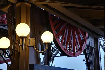 Sight Photograph - Eiffel Tower - Paris France - 01139 by DC Photographer