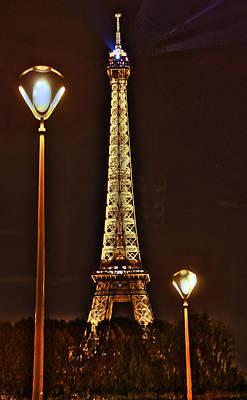 Eiffel Tower Art Print by Steve Ellenburg