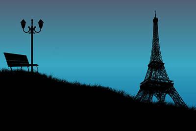 Eiffel Tower Photograph - Eiffel Tower View by Stephanie Hamilton
