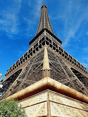 Photograph - Eiffel01 by Gerald Greenwood