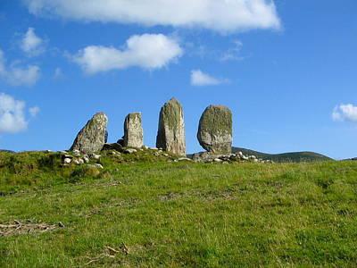 Photograph - Eightercua Stone Alignment by Denise Mazzocco