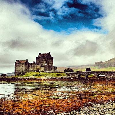 Fantasy Photograph - Eilean Donan Castle - Scotland by Luisa Azzolini