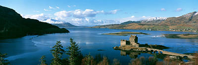 Historic Architecture Photograph - Eilean Donan Castle Scotland by Panoramic Images