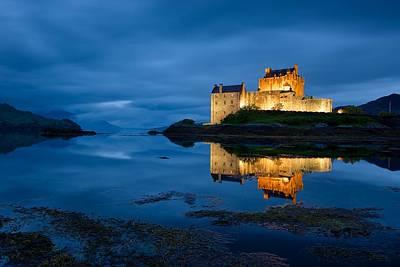 Digital Art - Eilean Donan Castle by Stephen Taylor