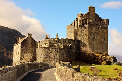 Photograph - Eilean Donan Castle by Susan Leonard