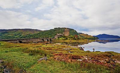 Castle Photograph - Eilean Donan by Marcia Colelli
