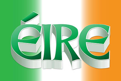 Digital Art - Eire by Ireland Calling