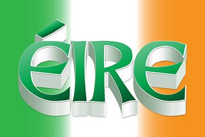 Digital Art - Eire by Ireland Calling