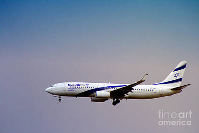 Photograph - El Al Israeli Airlines by Doc Braham