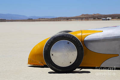 Dry Lake Racing Photograph - El Mirage 3 by Dennis Hedberg