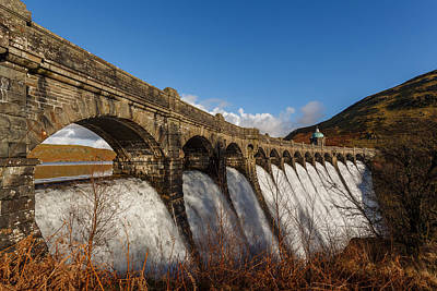Bath Time Rights Managed Images - Elan Valley dam flowing Royalty-Free Image by Izzy Standbridge