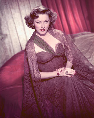 Eleanor Photograph - Eleanor Parker by Silver Screen