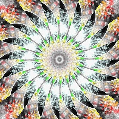 Digital Art - Electric Eye by Derek Gedney