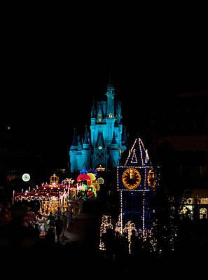 Walt Disney World Photograph - Electrified Main Street Christmas by Drew Green