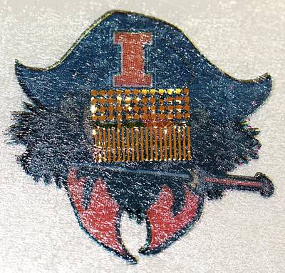 Electronic Circuit Temporary Tattoo Art Print by Professor John Rogers, University Of Illinois
