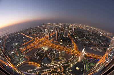 Dubai Photograph - Electropolis by Robert Work