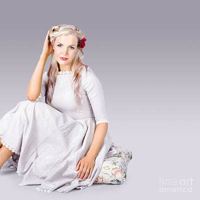 Photograph - Elegant Fashion Girl by Jorgo Photography - Wall Art Gallery