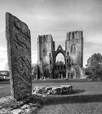 Photograph - Elgin Cathedral by Wayne Molyneux