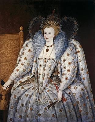Elizabeth I Of England, Called Print by Everett
