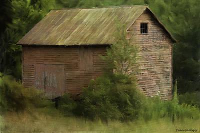 Photograph - Ellenville Barn by Fran Gallogly