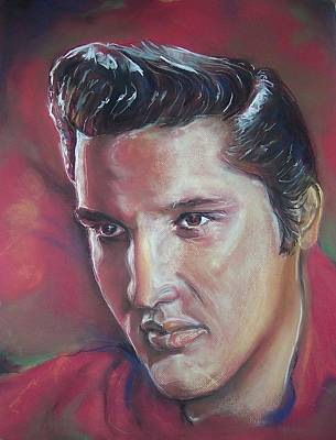 Pastel - Elvis by Peter Suhocke