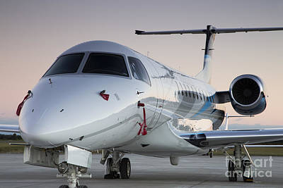 Jets Photograph - Embraer Legacy 650 Executive Jet by Dustin K Ryan