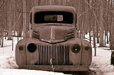 Photograph - Emergency Truck by Randy J Heath