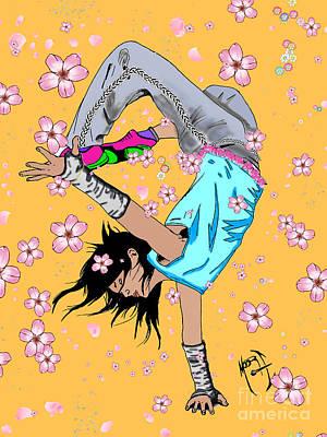 Emi Art Print by Justin Moore