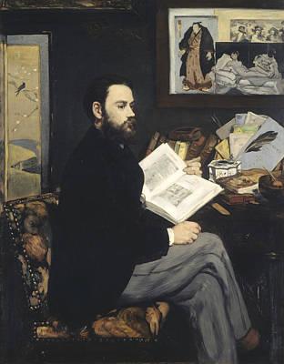 Emile Zola Art Print
