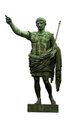 Dei Photograph - Emperor Caesar Augustus by Fabrizio Troiani