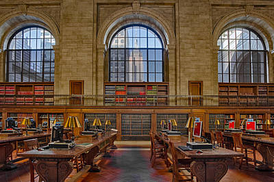 Library Photograph - Empire State by Susan Candelario