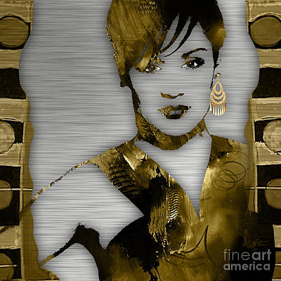 Grace Mixed Media - Empire's Grace Gealey Anika Gibbons by Marvin Blaine