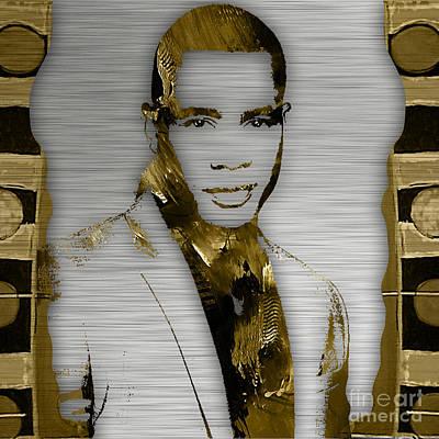 Mixed Media - Empire's Trai Byers Andre Lyon by Marvin Blaine