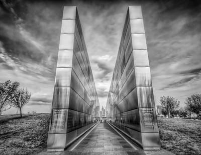Photograph - Empty Sky Memorial by Linda Karlin