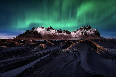 Iceland Wall Art - Photograph - Enchanted Stokksnes by Javier De La