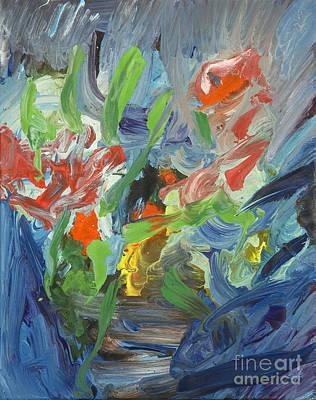 Painting - Energy by Pauli Hyvonen