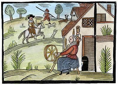 England Daily Life Art Print by Granger