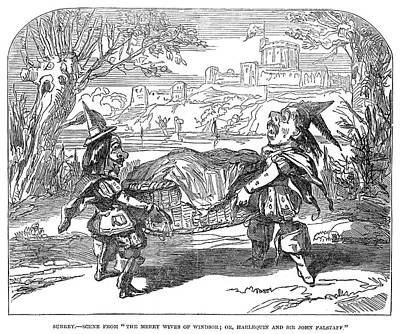Painting - England Pantomime, 1850 by Granger