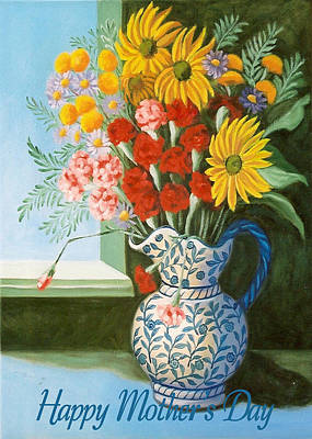 Painting - English Bouquet by Ruth Soller
