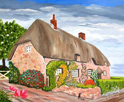 Painting - English Cottage by Phyllis Kaltenbach