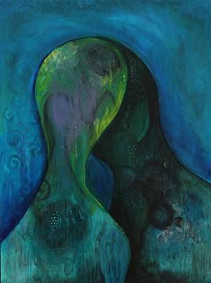 Painting - Ensemble by Indigo Carlton
