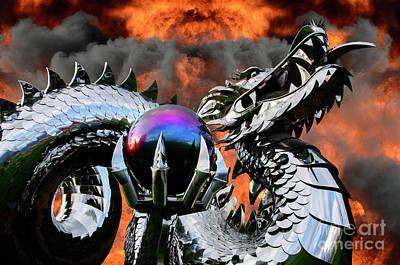 Enter The Dragon Art Print by Bob Christopher