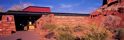 Capitol Reef National Photograph - Entrance Of Capitol Reef National Park by Panoramic Images