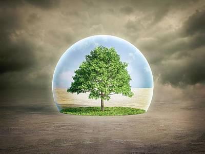 Environmental Protection Art Print by Andrzej Wojcicki/science Photo Library